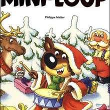 Livre : Drole de Noel pour Mini-Loup