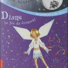 Livre : Les fées des bijoux : Diane la fée du diamant