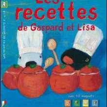 Livre : Les recettes de Gaspard et Lisa