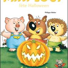 Livre : Mini-Loup fete Halloween
