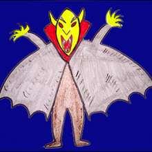 Dessine un vampire - Dessin - Apprendre à dessiner - Dessiner des personnages d'Halloween
