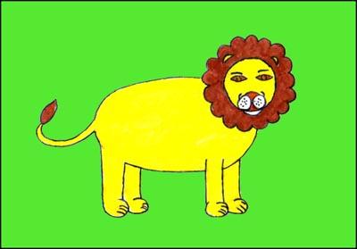 DESSIN LION
