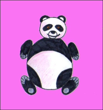 Comment dessiner un panda - Dessins de panda ...
