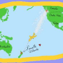 Explications sur la naissance de la Nouvelle-Zélande - Activités - BRICOLAGE ENFANT - Bricolage Ecolo avec Tipi-Kiwi