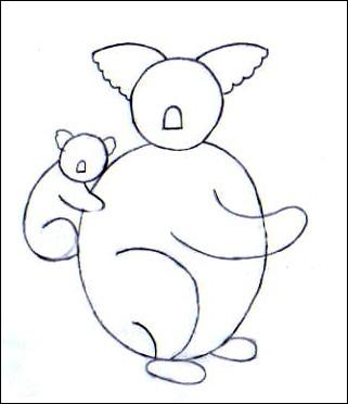 comment dessiner un koala etape par etape