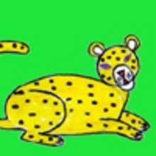 Dessiner un leopard - Dessin - Apprendre à dessiner - Dessiner des animaux