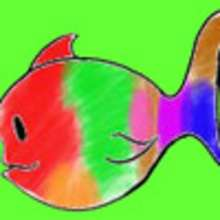 Fiche bricolage : le poisson multicolore - Activités - BRICOLAGE ENFANT - Bricolage Ecolo avec Tipi-Kiwi