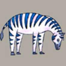 Dessiner un zèbre - Dessin - Apprendre à dessiner - Dessiner des animaux