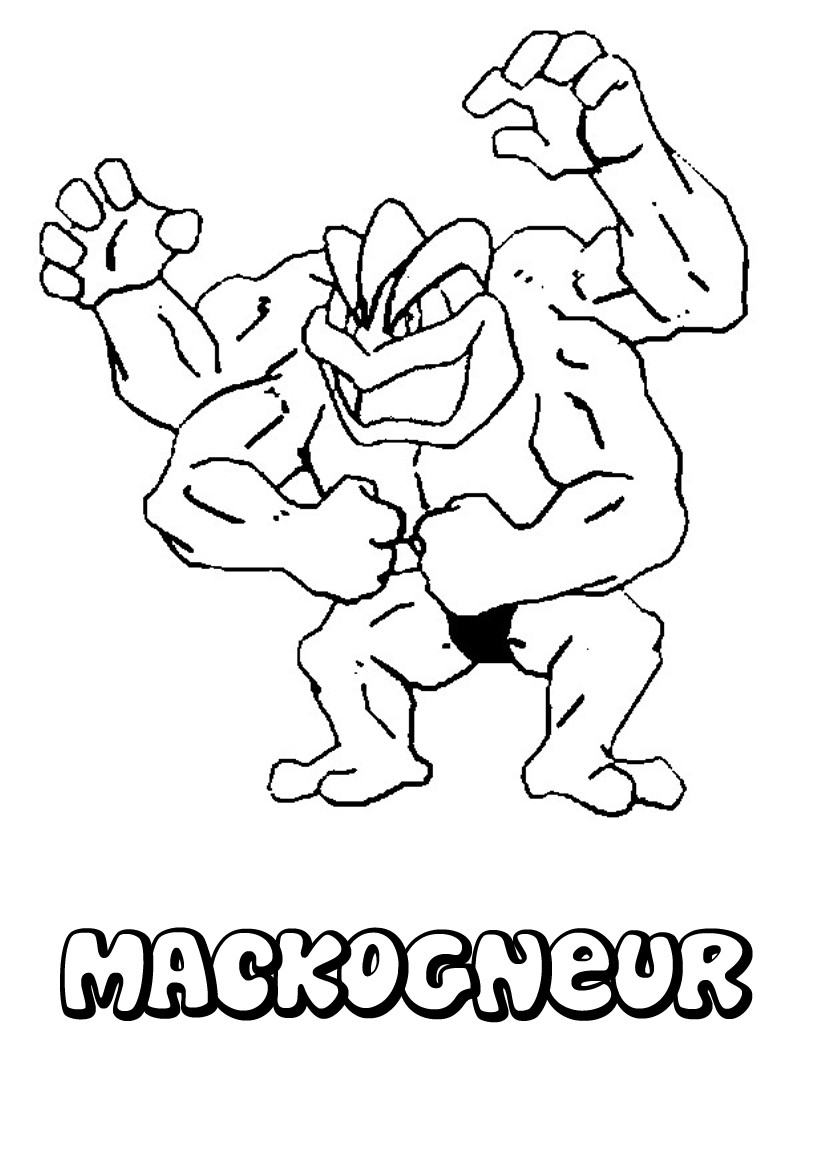 Coloriages mackogneur - Coloriages pokemon ex ...