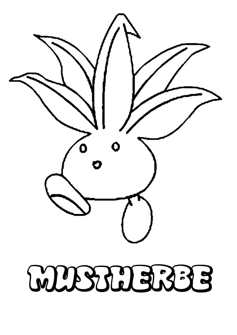 Coloriages mystherbe - Coloriage pokemon en ligne ...