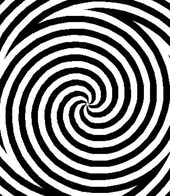 comment dessiner une illusion d optique spirale. Black Bedroom Furniture Sets. Home Design Ideas