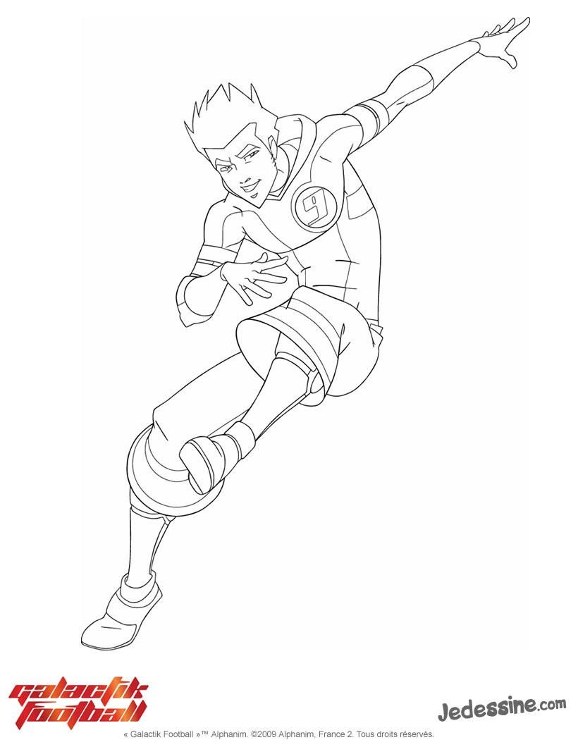 Coloriages coloriage de djok - Galactik football jeux ...