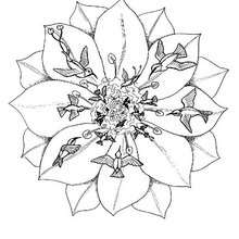 Coloriage De Mandala Danimaux.Mandalas D Animaux A Colorier Coloriages Coloriage A Imprimer