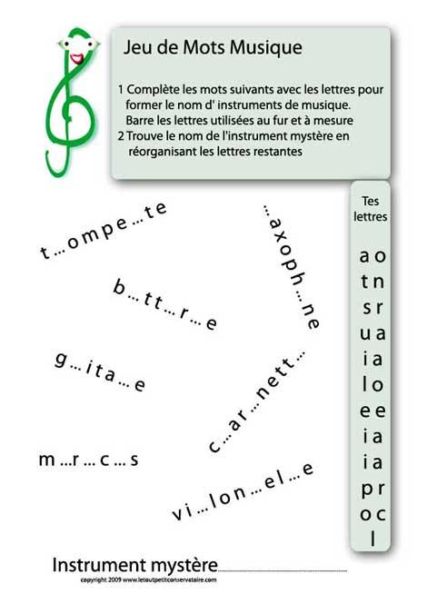 instrument-mystère
