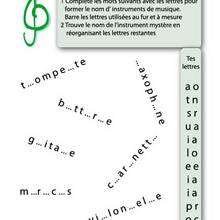 L'instrument Mystre - Vidos - MUSIQUE - Apprendre la musique en s'amusant avec Le Tout Petit Conservatoire - Joue avec la musique