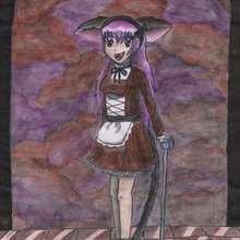 Manga goth (by @mandine) - Dessin - Dessins et images des membres de Jedessine - Dessins