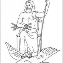 Les Dieux de l'Olympe dans la mythologie grecque.
