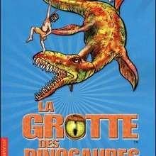 Livre : La grotte des dinosaures : le monstre des mers (Tome 8)
