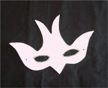 Masque à imprimer : FABRIQUER UN MASQUE DU CARNAVAL.