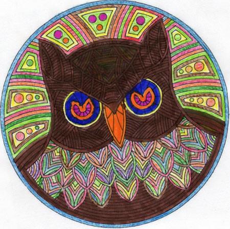Comment dessiner mandalas d 39 animaux - Dessins de mandala ...