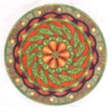 Mandalas de fleurs