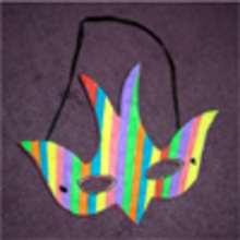 FABRIQUER UN MASQUE DU CARNAVAL. - Activités - BRICOLAGE FETES - BRICOLAGE CARNAVAL - Masques à découper et colorier pour le Carnaval
