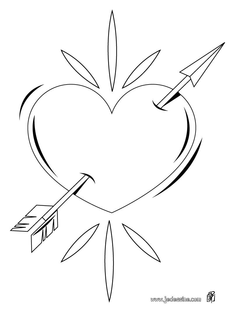 ... un coeur dessine avec les mains coloriage d une montgolfiere en