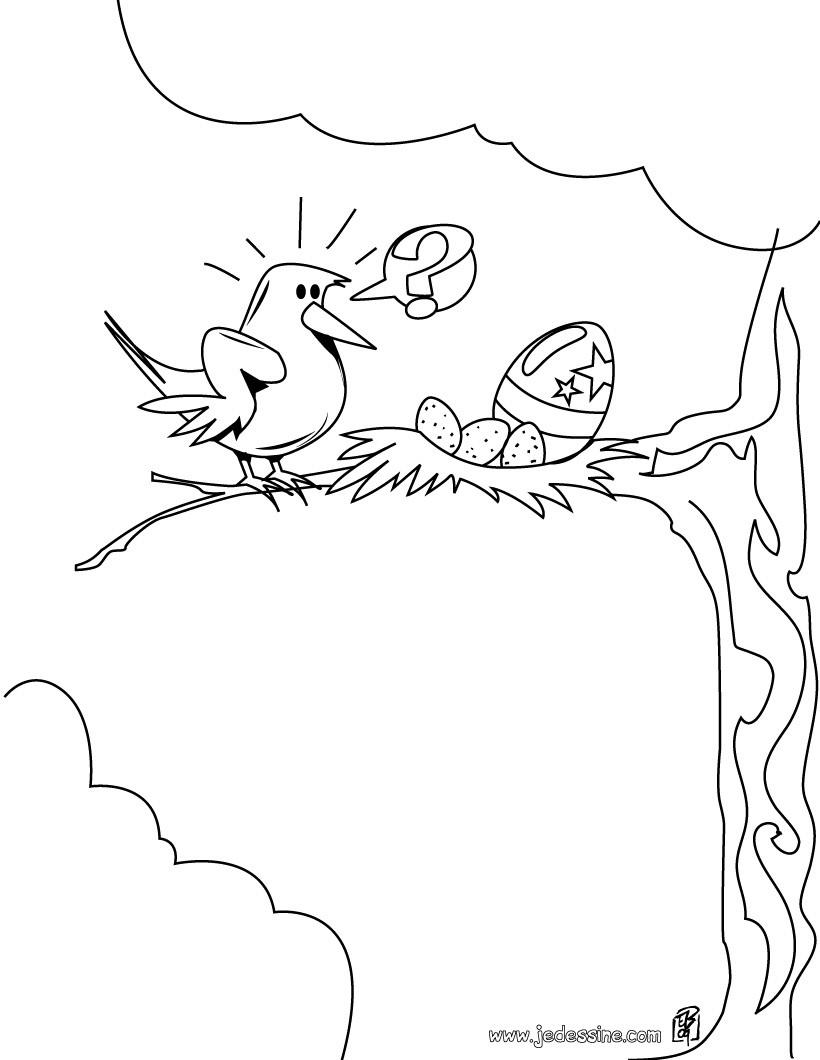 15 Coloriage Nid D Oiseau Imprimer Haut Coloriage Hd