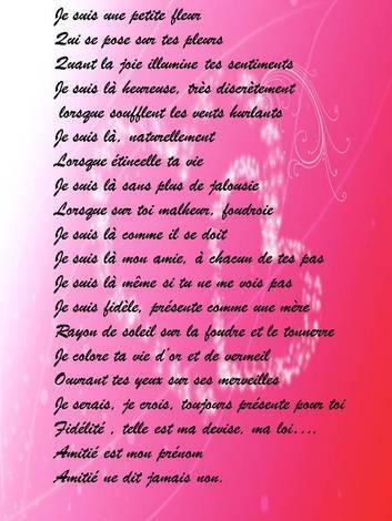 Poeme Sur Les Amis