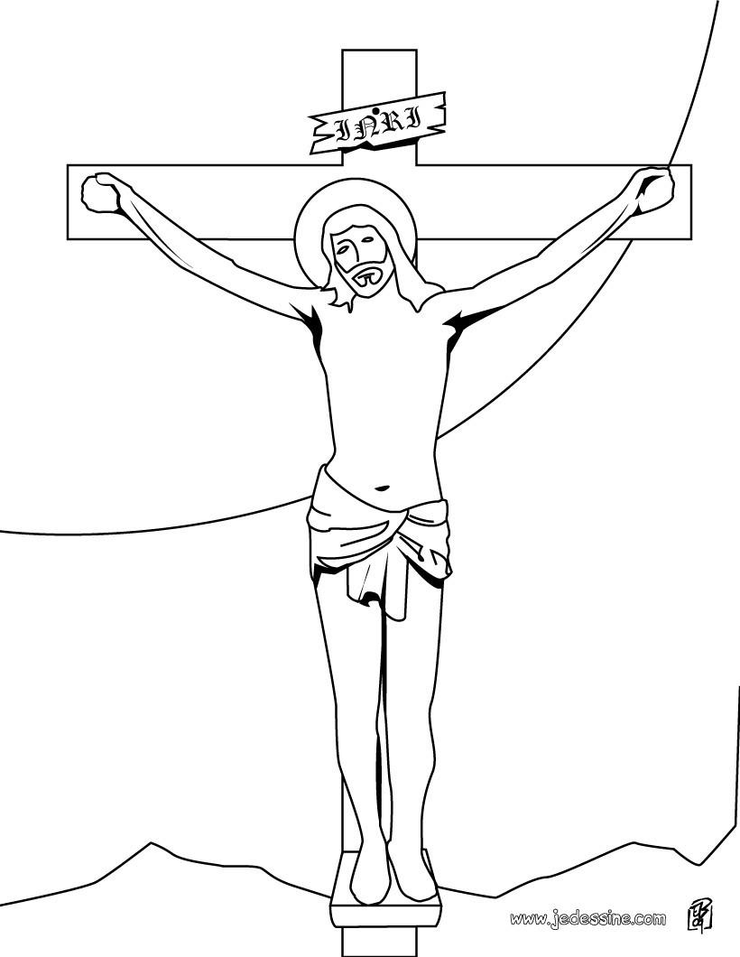 comment dessiner jesus