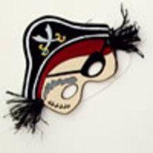 Masque de pirate - Activités - ATELIER BRICOLAGE EN VIDEO - VIDEO BRICOLAGE CARNAVAL