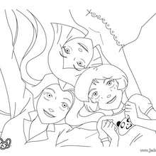 Sam, Alex et Clover