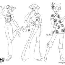 Sam, Alex et Clover - Fashion 1