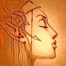 Croquis d'elfe - Dessin - Dessins et images des membres de Jedessine