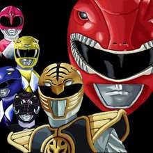 Coloriage POWER RANGERS