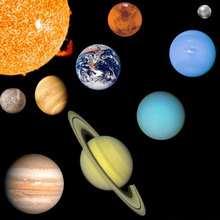 L'espace et les planètes