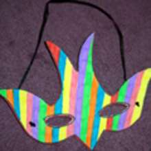 Masques  dcouper et colorier pour le Carnaval - BRICOLAGE FETES - Activits