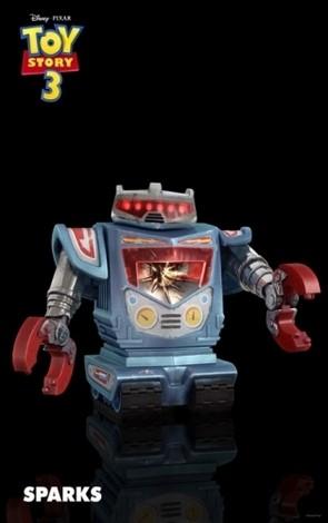 Les nouveaux jouets de Toy Story 3