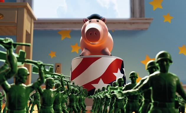 Vid os pour enfants de videos toy story 2 - Le cochon de toy story ...