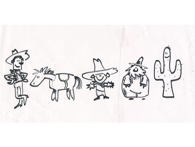 Esquisses de Toy Story 2