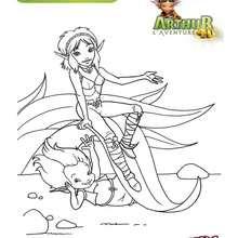 Arthur et Princesse Séléna 2