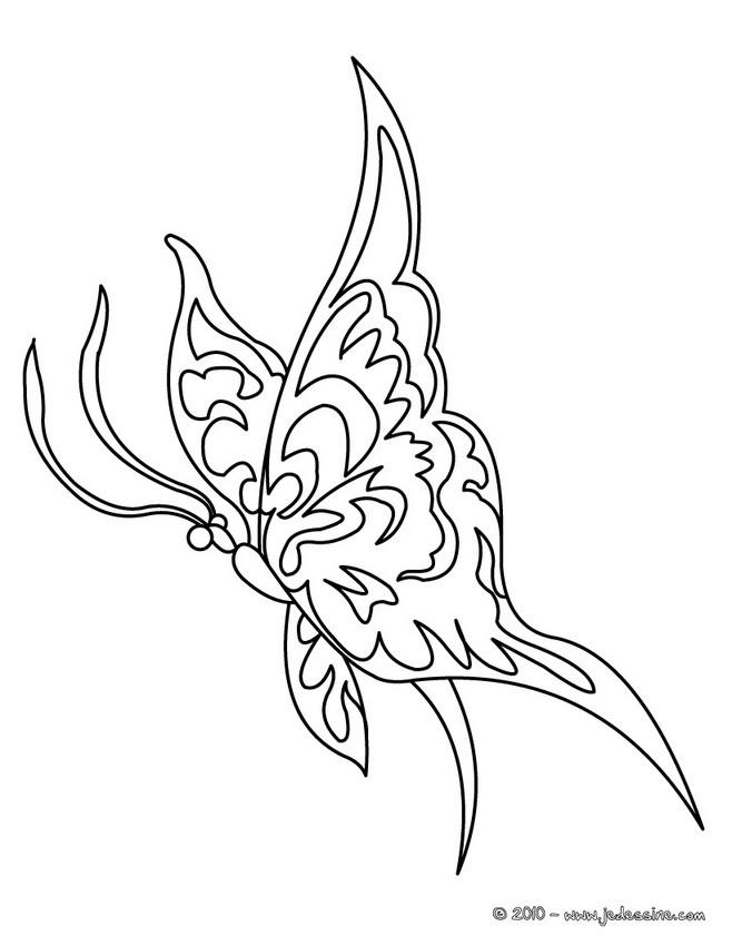 coloriages papillon gratuit fr hellokids com