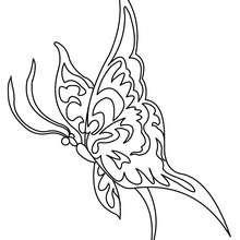 Coloriage : Papillon gratuit