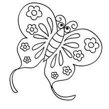 coloriage dun papillon