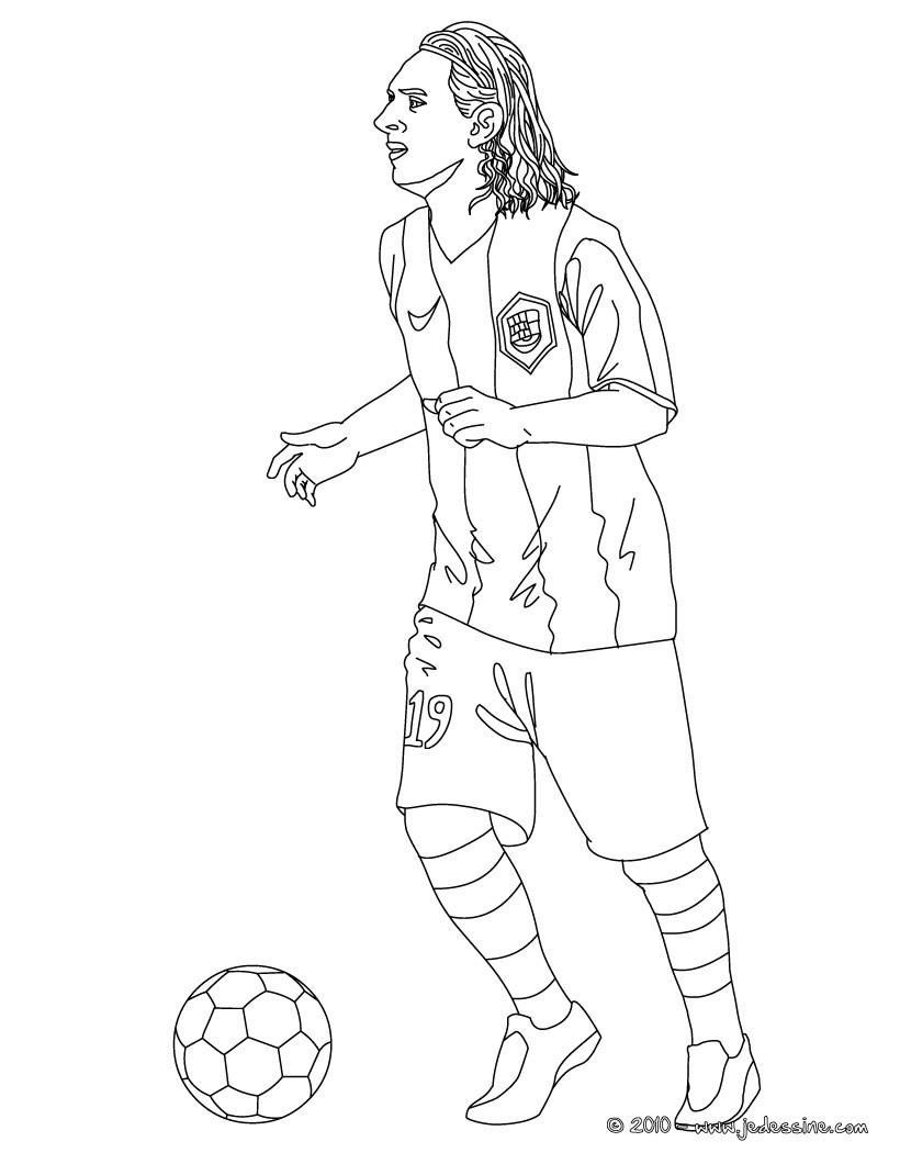 Coloriages lionel messi - Coloriage de footballeur ...