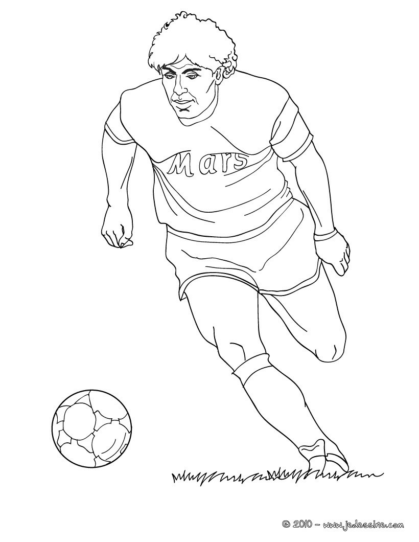 soccer coloring pages ronaldo hair - photo#6
