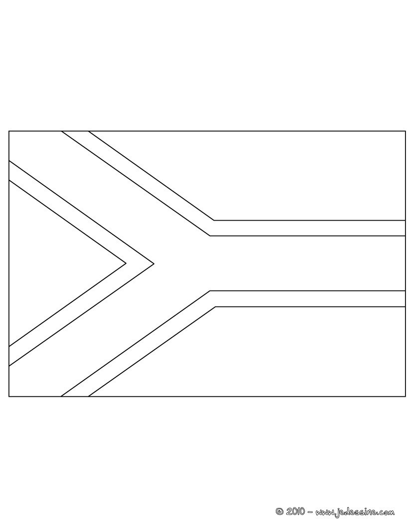 only coloring pages flag - photo#21