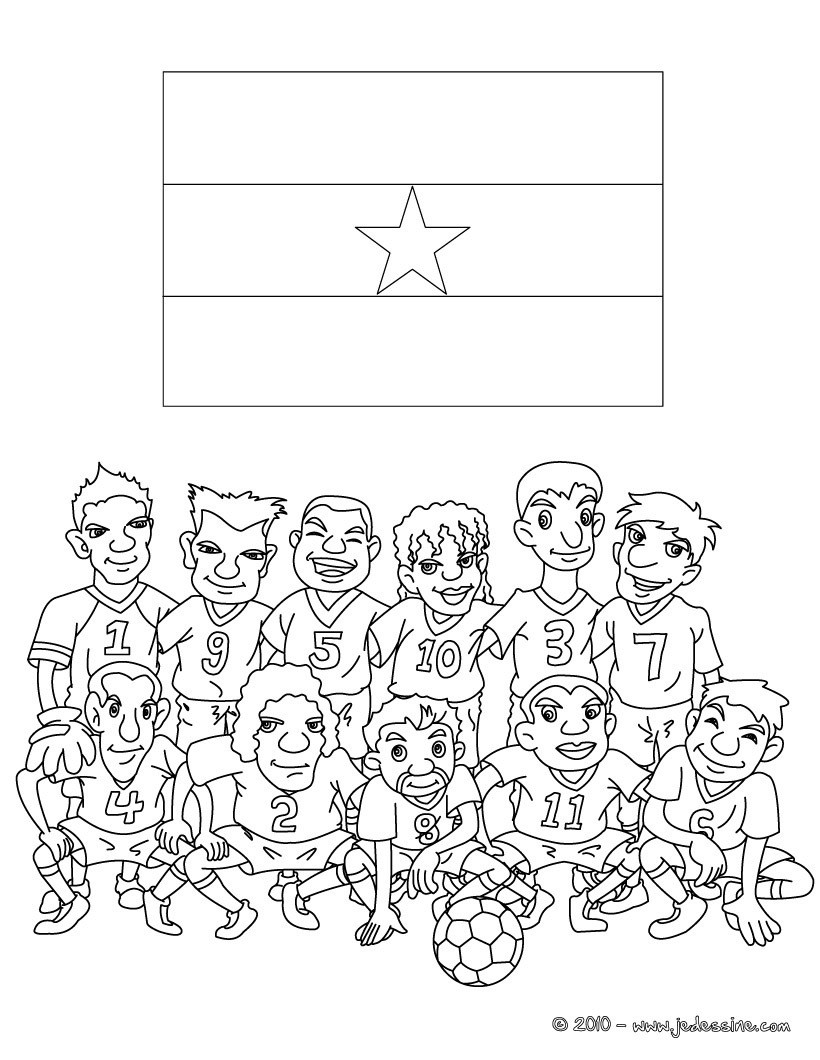 Coloriage Sport Foot.Coloriages Coloriage Equipe Foot Italie Fr Hellokids Com