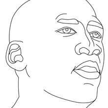 Coloriage MICHAEL JORDAN