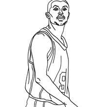 Coloriage de TONY PARKER